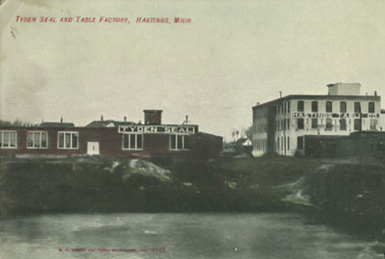 Tyden Seal and Table Factory, Hastings, MI